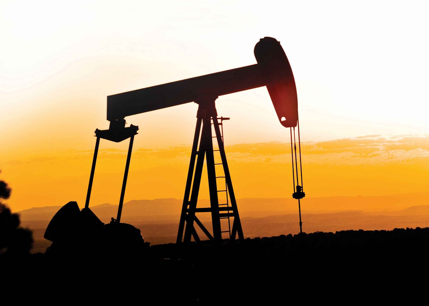 Oil Field Photography with Pumpjack
