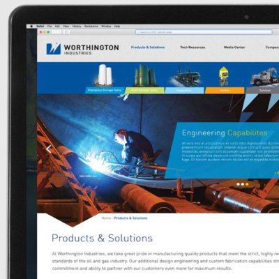 Worthington Industries Web Development